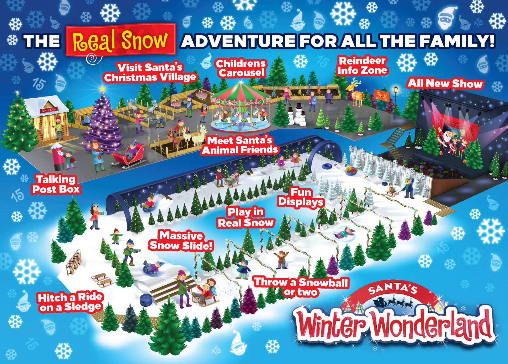 Santa's Winter Wonderland Map